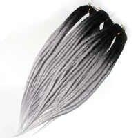 Qp cheveux déesse dreadlocks locs crochet cheveux cheveux synthétiques pré étiré tressage cheveux de la redoute serrures doubles extrémités