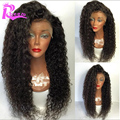 180% Density Full Lace Wig Curly Brazilian Virgin Hair Full Lace Human Hair Wigs For Black Women Glueless Curly Lace Front Wig