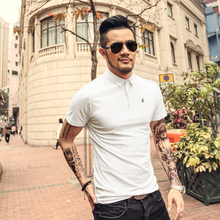 Men's Polo Shirt High Quality Solid Men Cotton Short Sleeve shirt Brands Summer Camisas polo Shirts Men 3XL
