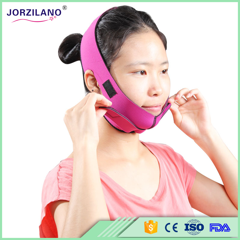 free shipping JORZILANO Jaw the Lift Thin Face Mask Thin Chin Melon seeds mask Enhance facial jaw pulling type face mask /></noscript></a><br /> <em></p> <div itemprop=