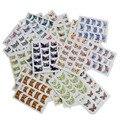 44 UNIDS Flor de Transferencia de Agua Consejos Francés Del Arte Del Clavo Mezclado 44 diseños de Tatuajes de Nail Art Stickers Watermark DIY para La Belleza Wraps NJ003