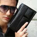 Luxury Famous Brand First layer of Cowhide waist packs Soft genuine leather men clutch bag Fashion chest pack