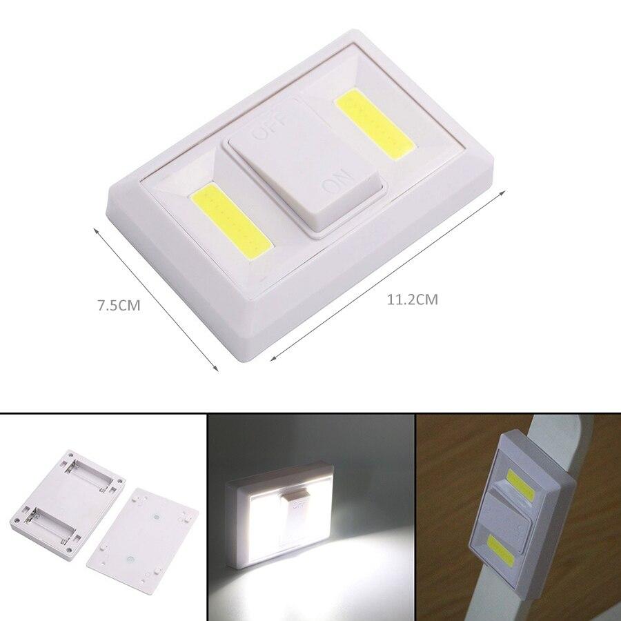 Magnetic LED Night Light DC4.5V 2COB Wireless Wall Light