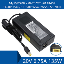 Laptop AC Adapter DC Charger Connector Port Cable For Lenovo 14/15/Y700 Y50 70 Y70 70 T440P T460P T540/P T550P W540 W550 S5 7000
