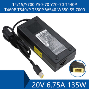 Laptop AC Adapter DC Charger Connector Port Cable For Lenovo 14/15/Y700 Y50-70 Y70-70 T440P T460P T540/P T550P W540 W550 S5 7000(China)