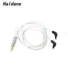 Haldanois – câble de mise à niveau plaqué argent 3.5/2.5/4.4, 8 cœurs équilibrés, pour écouteurs EX600, EX800, EX1000, EXK, livraison gratuite