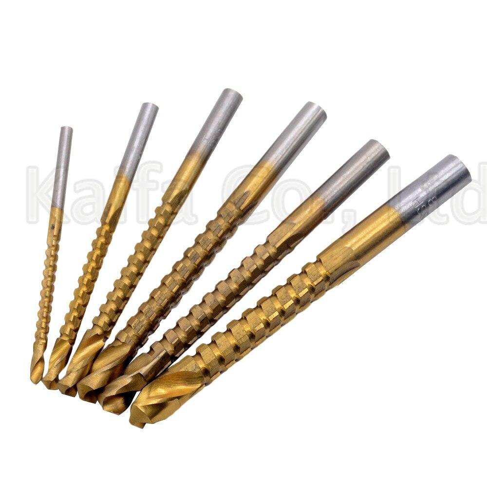 1pcs 3/4/5/6/6.5/8mm Drill Power Tools Speed Out Metal Titanium Coated HSS Twist Drill Bits Set Saw Metal Drilling