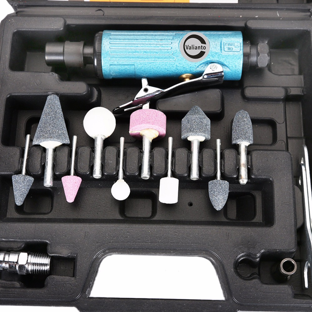 GR-328 25000RPM Speed Air Die Grinder Kit Pneumatic Tools Air Grinding Set Air Tools Pneumatic Grinder