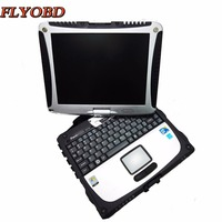 2019 Super Military Toughbook CF19 for Panasonic laptop CF 19 with SSD 2019.03V Software for MB STAR SD C4 diagnostic tool