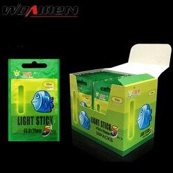 20/50Pcs 4,5*37mm Angeln Float Leuchtstoff Leucht Light Nacht Float Stange Lichter Dark Glow Stick nützlich Viele Angeln/Party