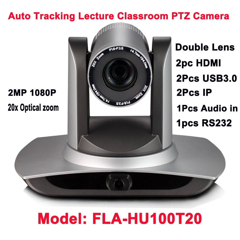 20x Optical Zoom Professional Auto video tracking live streaming videoconference HDMI USB3.0 ip PTZ camera image