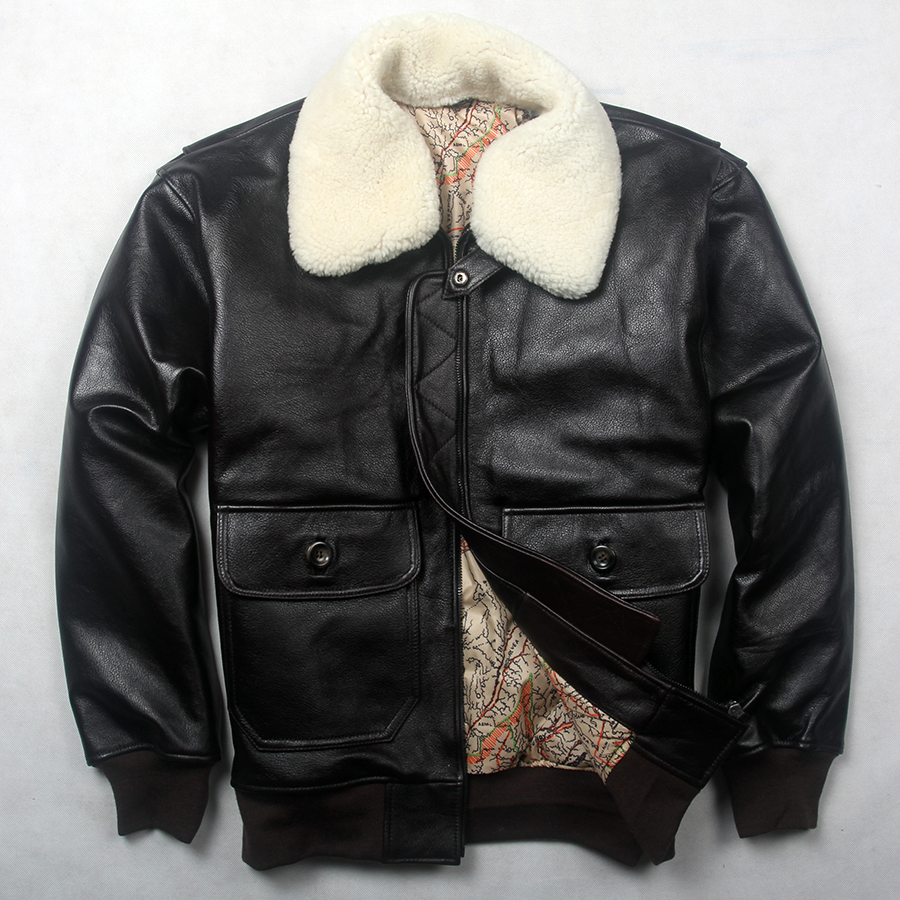 High Quality Mens Bomber Jacket with Fur Collar-Buy Cheap Mens ...