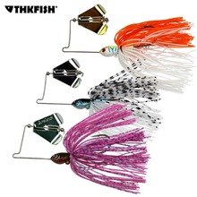 1Pcs 12.8g Buzz Bait Skirt Fishing Lures Spoon Spinnerbait Topwater Bu