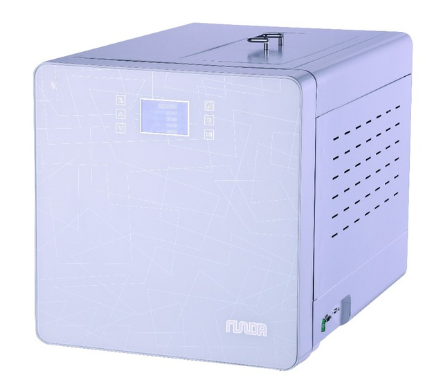 Steam Sterilizer 23L Whoel Plant touch Wide LCD Display Steam Dental Autoclave Sterilizer with printer free shipping