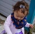 8 цветов 2015 новинка детские шарф дети воротник весной новинка симпатичные узоры теплый небольшой лисы печать ребенок шейный платок