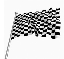 2017 High quality F1 Racing Chequered Flag Checkered Flag Banner flags and banners 90x150cm