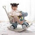 Многофункциональное пластиковое кресло-качающаяся лошадка  подарок на день рождения для детей 1-5 лет  2019
