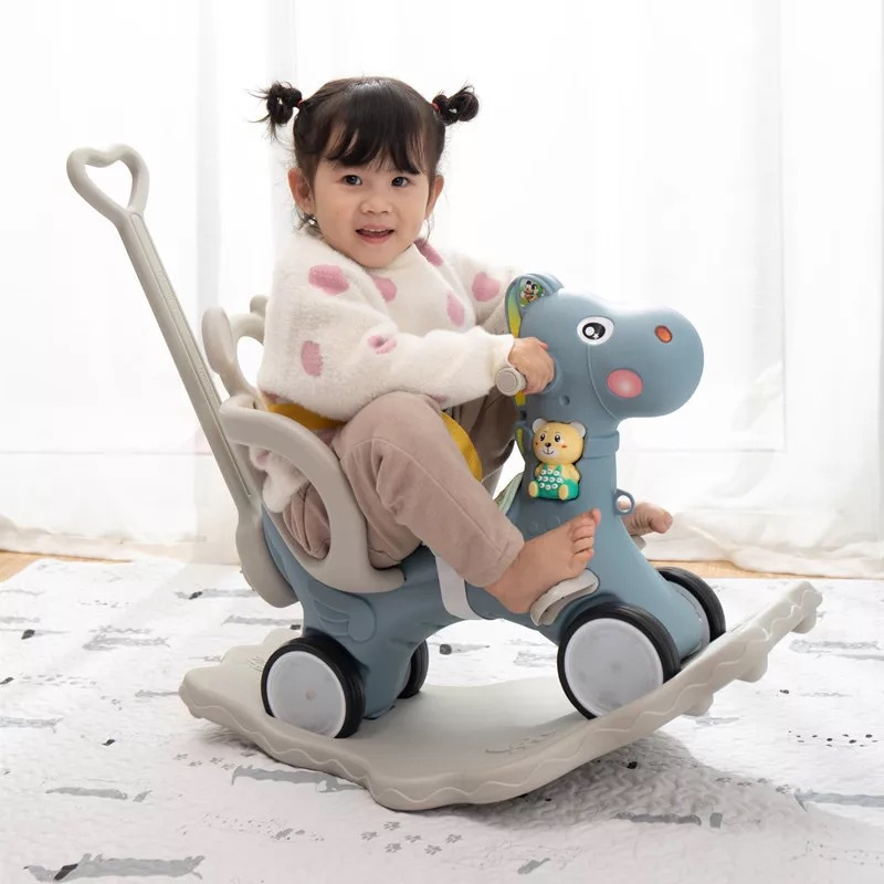 Multifunction 2019 New Plastic Rocking Horse Rocking Chair Baby Birthday Gift Swing Chair Baby Stroller 1-5years OldMultifunction 2019 New Plastic Rocking Horse Rocking Chair Baby Birthday Gift Swing Chair Baby Stroller 1-5years Old