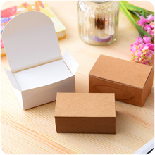 100pcs/Lot Kraft Paper Card DIY Vintage Message For Congratulation Thanks Gift Invitation Bookmarks