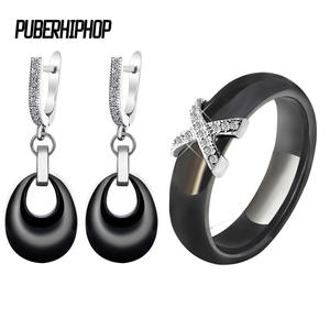 puberhiphop Jewelry Sets Earrings for Women Wedding Jewelry