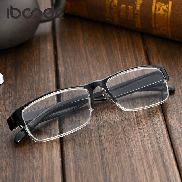 iboode Classic Light Reading Glasses Resin Lens Men Women Glasses Presbyopic Eyeglasses with +1.0 +1.5 +2.0 +2.5 +3.0 +3.5 +4.0
