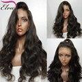Onda do corpo Cheia Do Laço Perucas de Cabelo Humano Lace Front Wigs Com Bebê cabelo Lace Front Perucas Para As Mulheres Negras perucas de Cabelo Humano Em Estoque