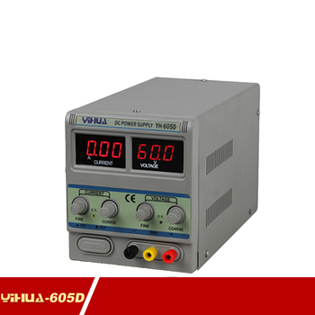 цена на YIHUA 605D 60V 5A Adjustable DC Power Supply Mobile Phone Repair Power Test Regulated Power Supply