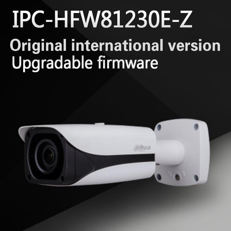 Бесплатная доставка dahua безопасности IP Камера 12MP Full HD ИК Пуля сети Камера IP67 IK10 с POE без логотипа ipc-hfw81230e-z
