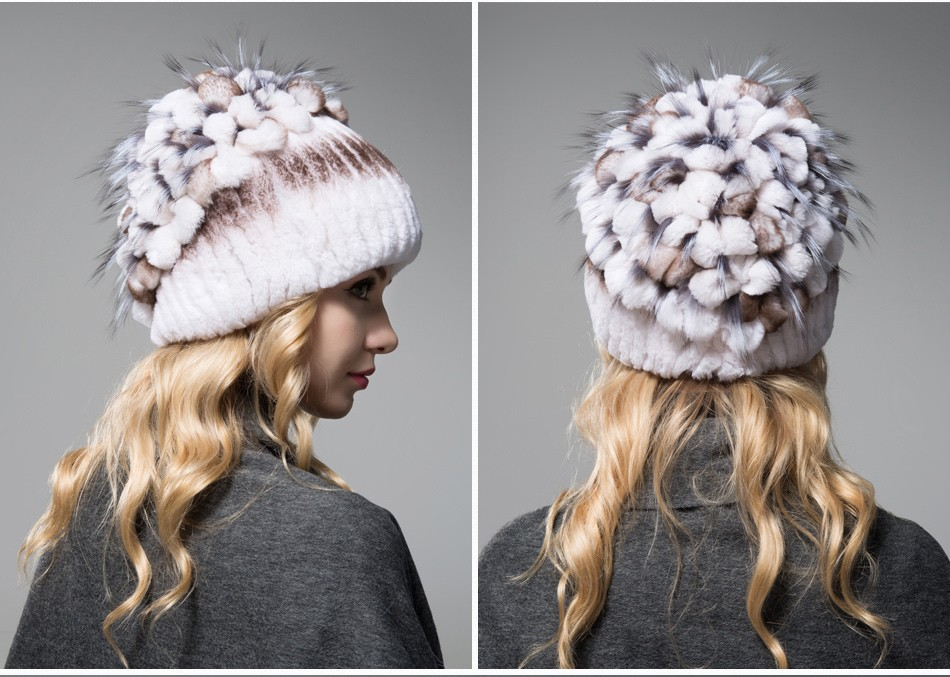 fur winter hats for women PCM003 (14)