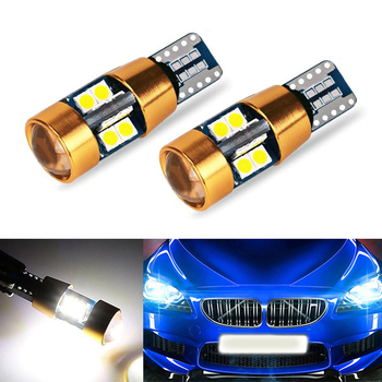 2x LED T10 W5W 3030SMD Car Parking Light Wedge Light For BMW E46 E39 E91 E92 E93 E28 E61 F11 E63 E64 E84 E83 F25 E70 E53 E71 E60 image