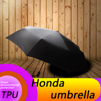 for Honda auto mobile automatic folding umbrella Honda logo car printing pattern sunshine automobile accessories