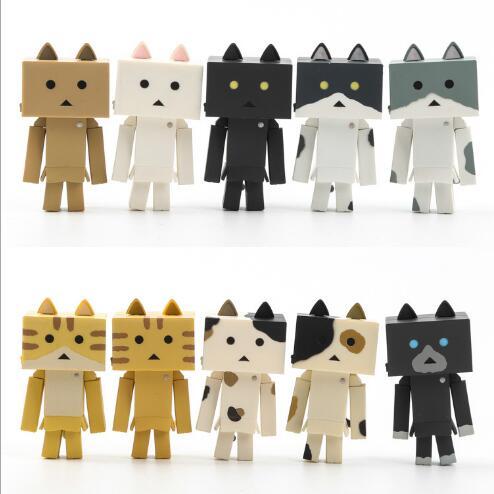 10 шт./компл. Высокое качество детская игрушка в подарок Cat дворе аниме в Danboard Ньян доска куклы