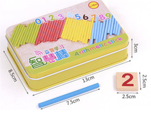 New wooden toy Arithmetic stick Educational toys Baby toy Free shipping