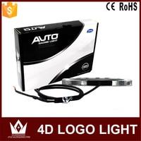 Night Lord 14 10cm For Toyota Auto 4D Emblem Light Lamp 4D Badge Sticker Light LED