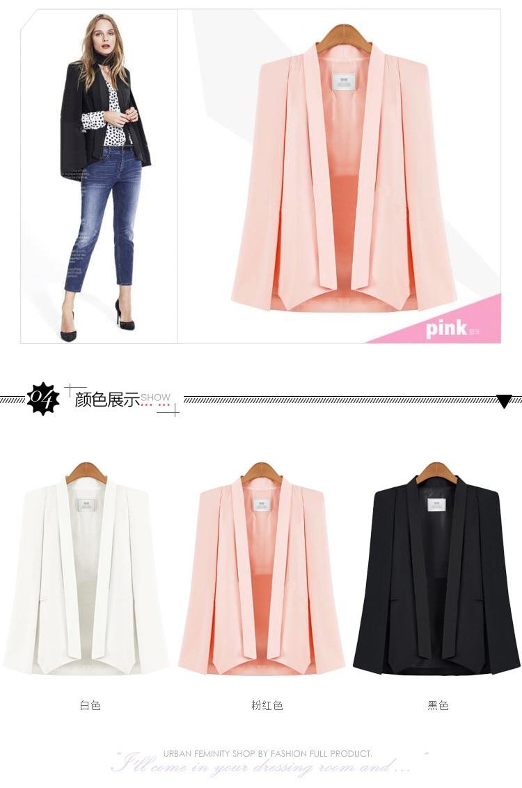 women blazers and jackets gothic blazer fashion 2019 girls jacket mama sexy coat korean white top casual woman harajuku