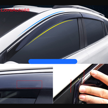 цена на Car Window Visor Door Rain Sun Shield Side Windows Cover Trim Auto Accessories 4Pcs For Toyota RAV4 2016 2017 2018