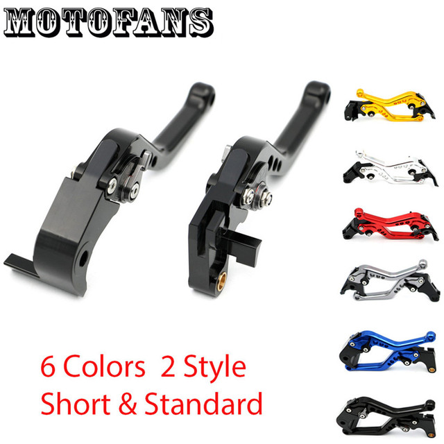 Motofans - New Motorcycle CNC Aluminum Long/Shorty Adjustable Clutch Brake Levers for Honda CBR929RR 2000 2001 CBR 929 RR 00 01