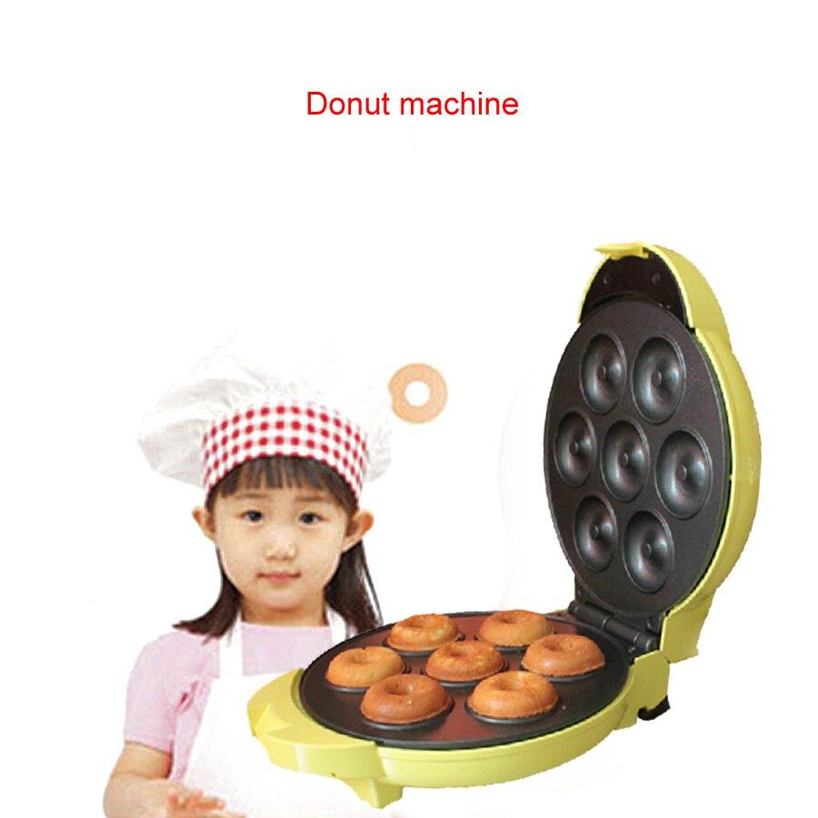 750 W 220 V deux-Side chauffage complètement automatique électrique beignet gaufrier oeuf gâteau faisant boule moule Machine FS-508N
