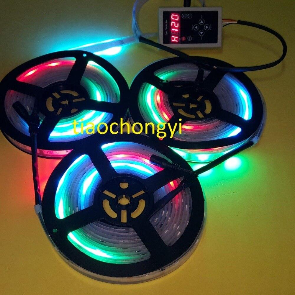 15 M 3X5 M 450 LED s 5050 RGB rêve couleur 6803 IC LED bande 133 changement + RF Rmote - 6