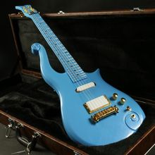 Instock  blue prince electric guitar gold hardware  set in joint  korean headmachine guranteed quality free shipping купить недорого в Москве