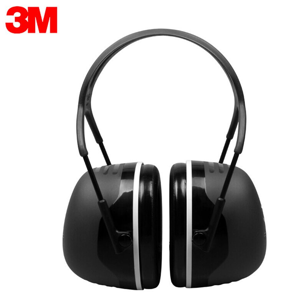 3M X5A Noise Cancelling Ear Muffs Hearing Protection Noise Reduction Safety Earmuffs Adjustable Professional Ear Protection
