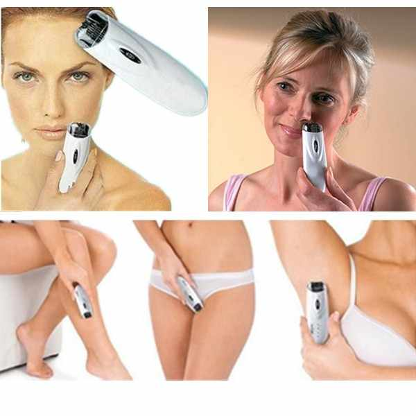 White Automatic Epilator Hot Body Facial Hair Remover Automatic Electric Tweezer Trimmer Epilator Shave High Quality Razor