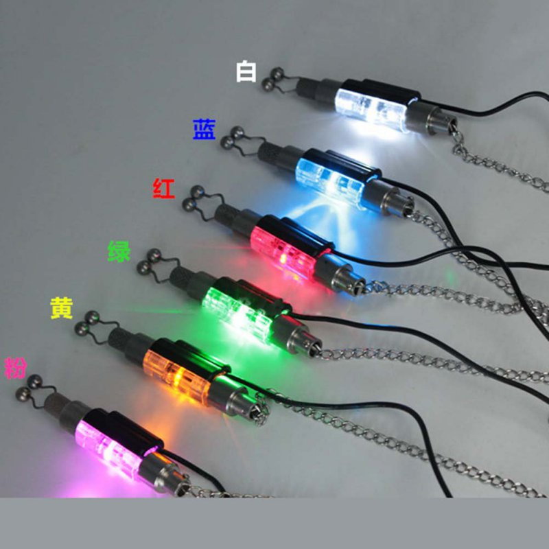 Led indicator carp fishing alarm chain hanger fishing for Fishing tackle sale