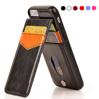 For IPhone 7 Wallet Case Magnetic PU Leather Shockproof Card Pocket Stand Back Cover Shell Phone