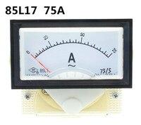 85L17 AC 75A Аналоговый Амперметр Панель тока Ампер метр указатель диагностический-тоже