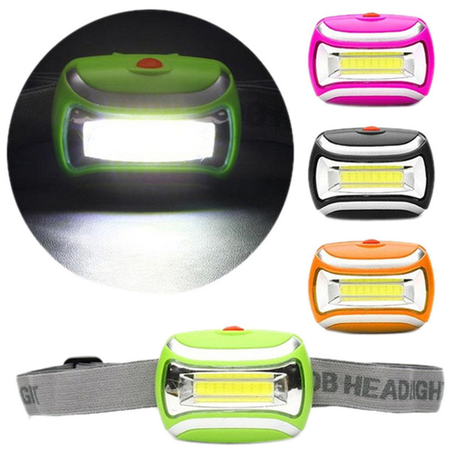 AAA COB Outdoor LED Head Lamp Torch 5W Headlight 600 Lumens Bright Adjustable Angle 921