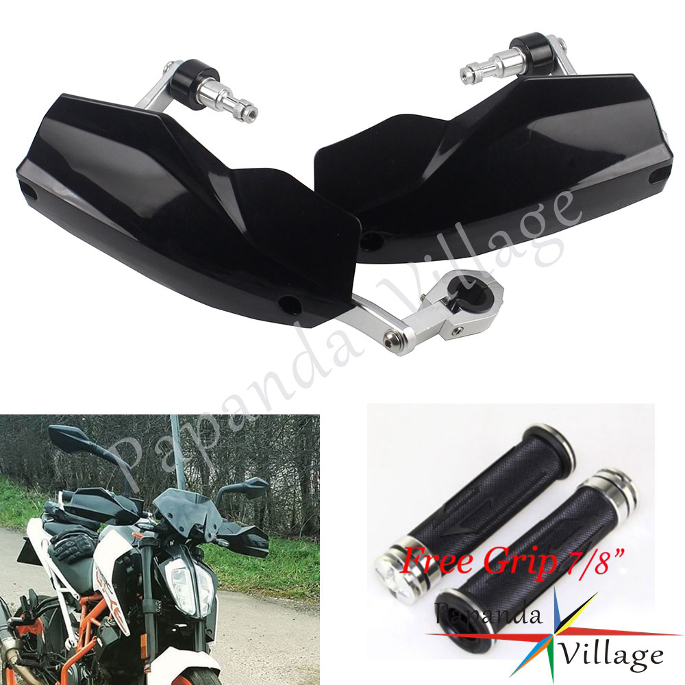 Universal Motorcycle Black 22/28mm Handguards For Husqvarna KTM Duke 125 200 250 390 690 790 1290 EXC 300 TE300 TE250 MX EnduroUniversal Motorcycle Black 22/28mm Handguards For Husqvarna KTM Duke 125 200 250 390 690 790 1290 EXC 300 TE300 TE250 MX Enduro