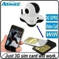 Com 3 G sim card verdadeiro 3 G câmera de vigilância de rede 3 G câmera ip