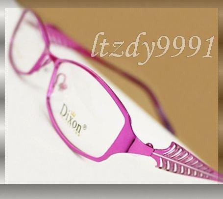 Roxo Full Metal aro Prescrição Óptica QUADROS de ÓCULOS Óculos Womens RX Espetáculo D9655 Eyewear