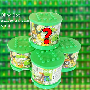 Image 5 - Bitkiler vs zombiler rakamlar yapı taşları PVZ aksiyon figürleri rol oynamak savaşları öğretici oyuncaklar için çocuk koleksiyonu yetişkinler için